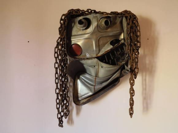 Sculpture de Gonçalo Mabunda