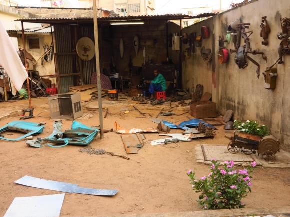 Atelier de Gonçalo Mabunda